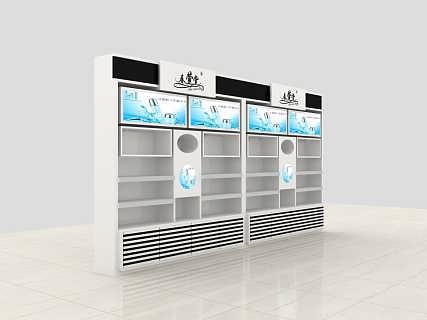 山东商超展柜,展台展厅设计,专卖店各种烤漆展示柜