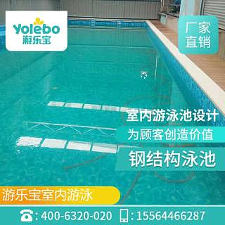 辽宁锦州大型钢构拼装式水育游泳池设备组装池