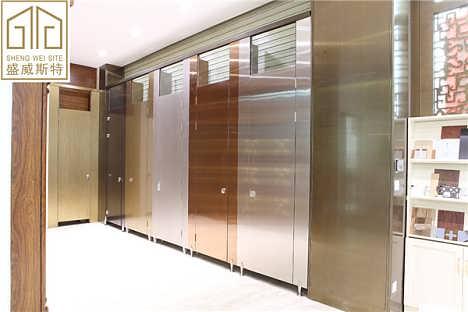 卫生间隔断使用304不锈钢材质最好-佛山市盛威斯特金属科技有限公司