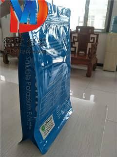 鱼食包装袋厂家A德懋塑料鱼食包装袋彩印厂家定制