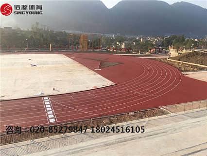 塑胶跑道材料厂家塑胶跑道建设价格专业厂家-广州信源体育产业有限公司(项目部)