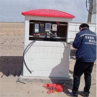 德州微�r�水灌溉�S貌Aт�井房