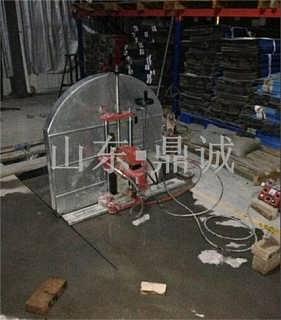 大锯片800型钢筋混凝土切墙机 自动行走一次成型轨道切割机-山东人和机械设备有限公司销售部