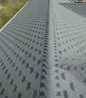 成都沥青瓦片油毡瓦仿古木屋别墅玻纤瓦彩钢屋顶屋面瓦防水自粘瓦-天津巴夫斯建材科技有限公司
