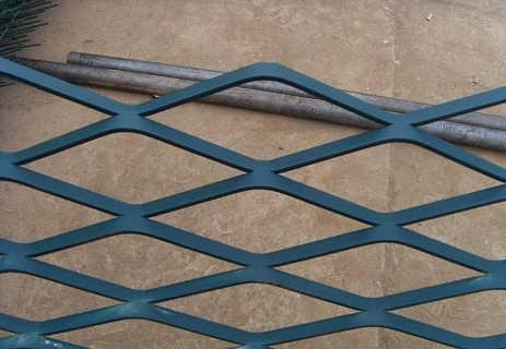 安平菱形网 踩踏平台重型钢板网 拉伸钢板网 幕墙网 吊顶铝板网