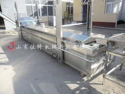 生产馓子用什么设备 湖南大型馓子油炸机-诸城佳特食品机械有限公司