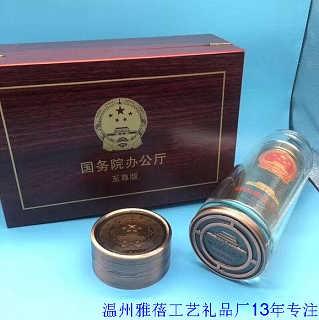 水晶杯木盒包装订做厂家13年经验