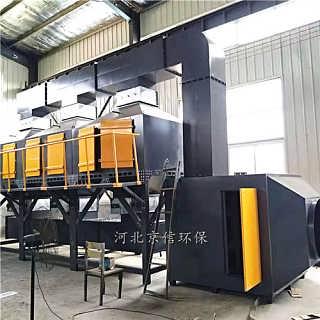 哈尔滨铸造厂催化燃烧设备1万风量-5万风量脱附流程
