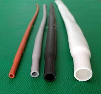 200度耐高温耐磨加厚柔软硅胶热缩管
