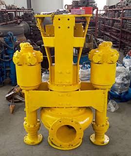 挖掘机清淤泵液压渣浆泵耐磨清淤泵-济南鲲升泵业有限公司销售部