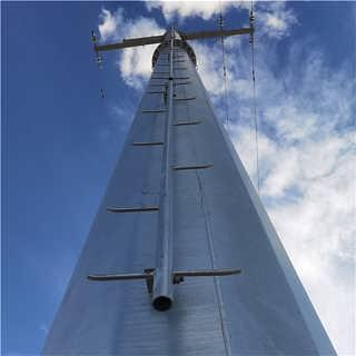 图纸定制安庆110KV直线转角杆 高压金属杆 电力钢杆