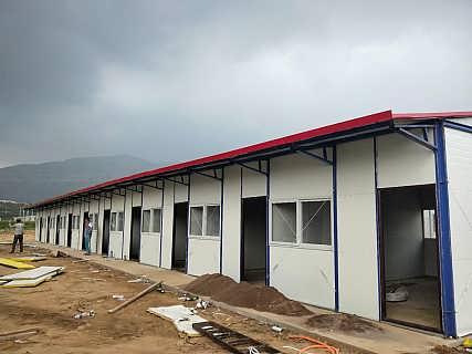 尧都生产岩棉复合板防火活动房板房厂家