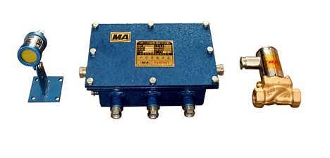 本安型光控洒水降尘装置ZP127煤矿洒水设备工作原理