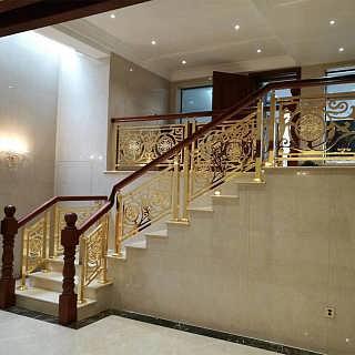 佛山安装铜楼梯扶手工厂-佛山市卡罗玛金属制品有限公司