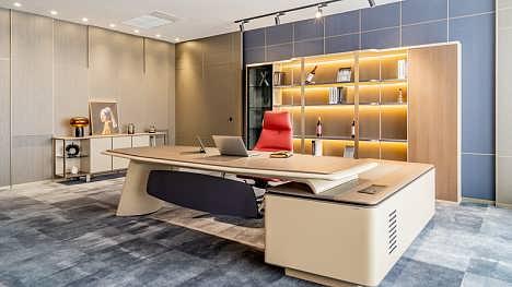 武汉办公班台,办公桌椅定制,办公家具采购