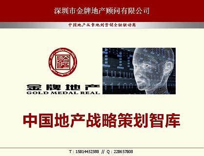 深圳房地产策划公司专为您编制项目立项申请报告-深圳市金牌地产顾问有限公司