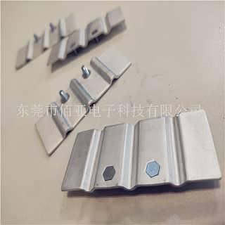 软铝排焊接加工 厂家供应电力母线槽跨接铝箔软连接