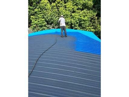 西安咸��S房彩�除�P��漆施工,彩�屋面��漆,彩�瓦刷漆翻新