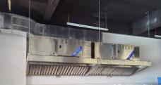 宝蓝3合1烟罩一体机吊装样式