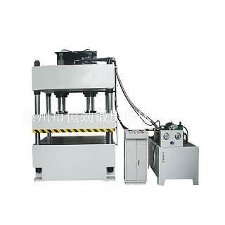 玻璃钢地沟卡子模压油压机200吨四柱液压机-滕州市恒劲锻压机床厂