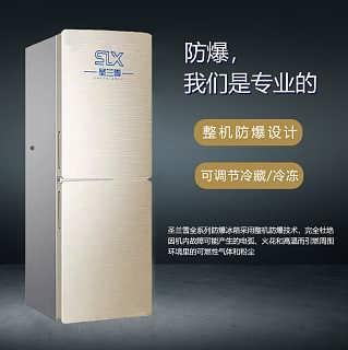 防爆冰箱150L爆炸性气体  化工实验室-安徽永盛防爆电气有限公司-销售部