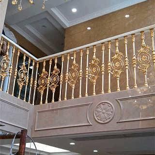 供应单支铜楼梯扶手厂家-佛山市卡罗玛金属制品有限公司
