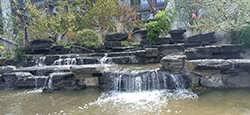 大青山院子景观千层石假山制作假山石的用途-浈江区恒峰屹园林石场