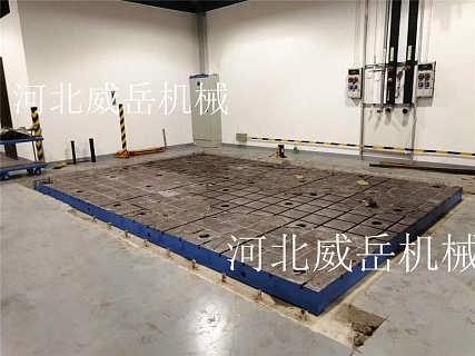 半成品附图纸 机床平台 铸铁平台长期现货供应