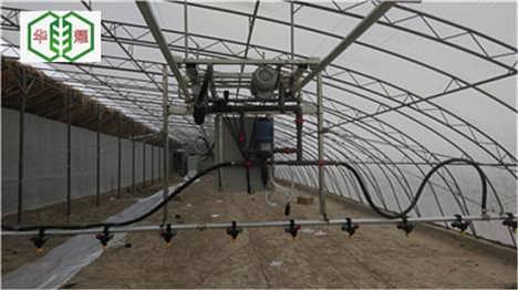 温室移动是喷灌设备华耀移动喷�{�c灌机厂家直销