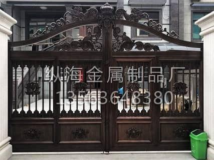 铝艺大门制作价格
