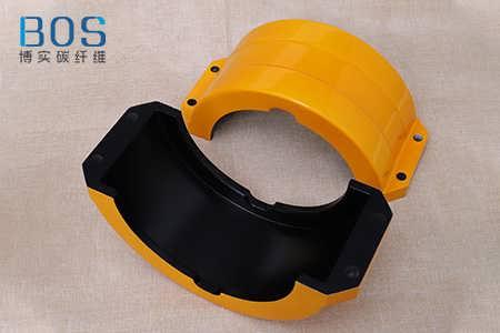 碳纤维高铁零部件加工 碳纤维高铁信号灯保护罩