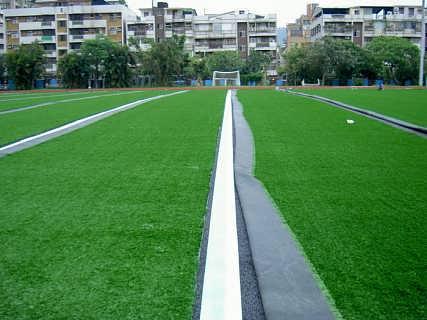 门球场人造草抛光门球场花园高尔夫球场尺寸装饰高尔夫球厂施工图片