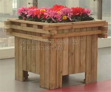 箱 木条花箱 木制花箱花盆