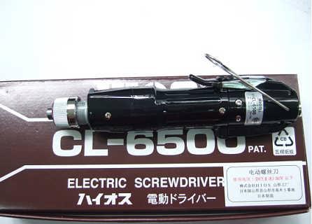 日本HIOS充电螺丝刀CL-6500-东莞市坚成电子科技有限公司