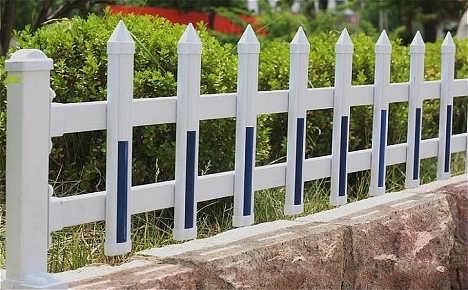 批发pvc护栏厂家直销插片条型塑料花草绿化围栏