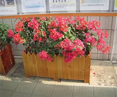 栽培花草树木的花箱容器使用范围