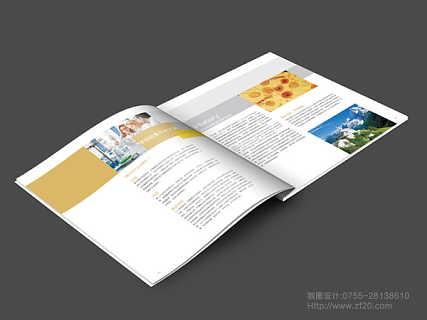 石岩彩页画册宣传目录手册设计印刷制作