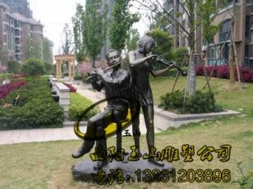 态文化景区蒙元文化雕塑