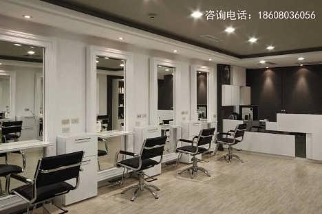 成都理发店专业装修,理发店美发店装修设计