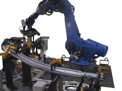 江苏 安川焊接机器人 全自动六轴工业机器人 氩弧焊铝材架-苏州力智达