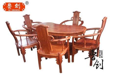 如意茶桌定做红木家具款式图,东阳木雕家具价格,明清家具款式