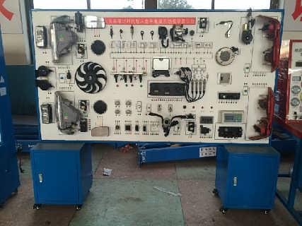 大众桑塔纳时代超人全车电器系统实训台
