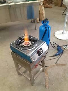醇基燃料蒸饭柜 醇油罐图片