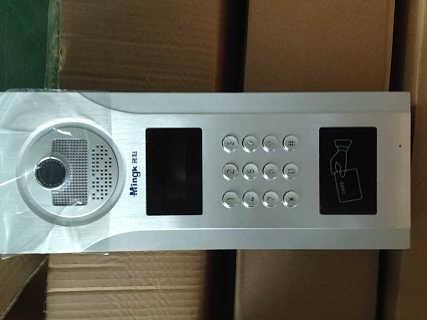 白银防盗门可视对讲门禁系统 楼宇对讲门铃销售