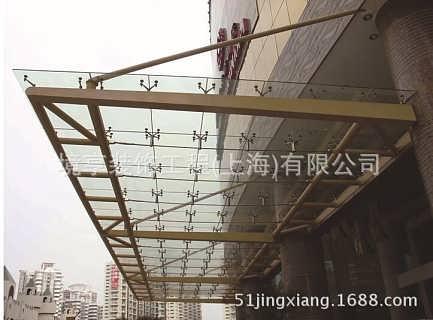 上海厂家专业制作钢结构玻璃雨棚,钢结构葡萄架,钢结构停车棚等