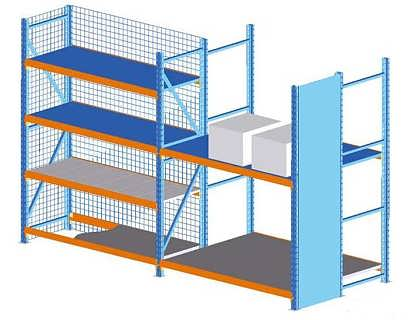 西安货架批发、陕西货架厂仓库布局设计的两种典型方法