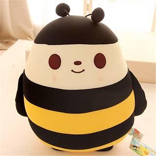 动物毛绒玩具蜜蜂布娃娃公仔可定制