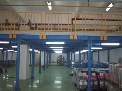 西安货架公司对钢平台货架结构优势分析