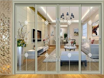 五月花门业  厨房玻璃门装修效果图与厨房推拉门装修效果图 厨房门