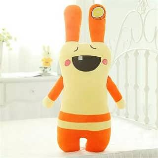 可爱兔子毛绒玩具水果造型布娃娃